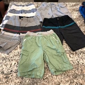 Other - Lot of 5 pairs boys shorts size 7